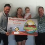 Morning tea with the Kimberley Sun competition winner